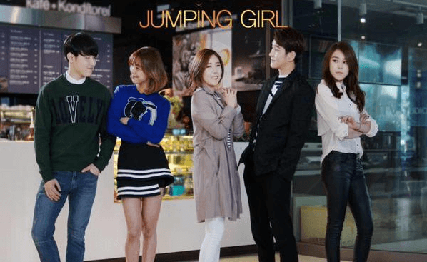 Resultado de imagem para jumping girl web drama