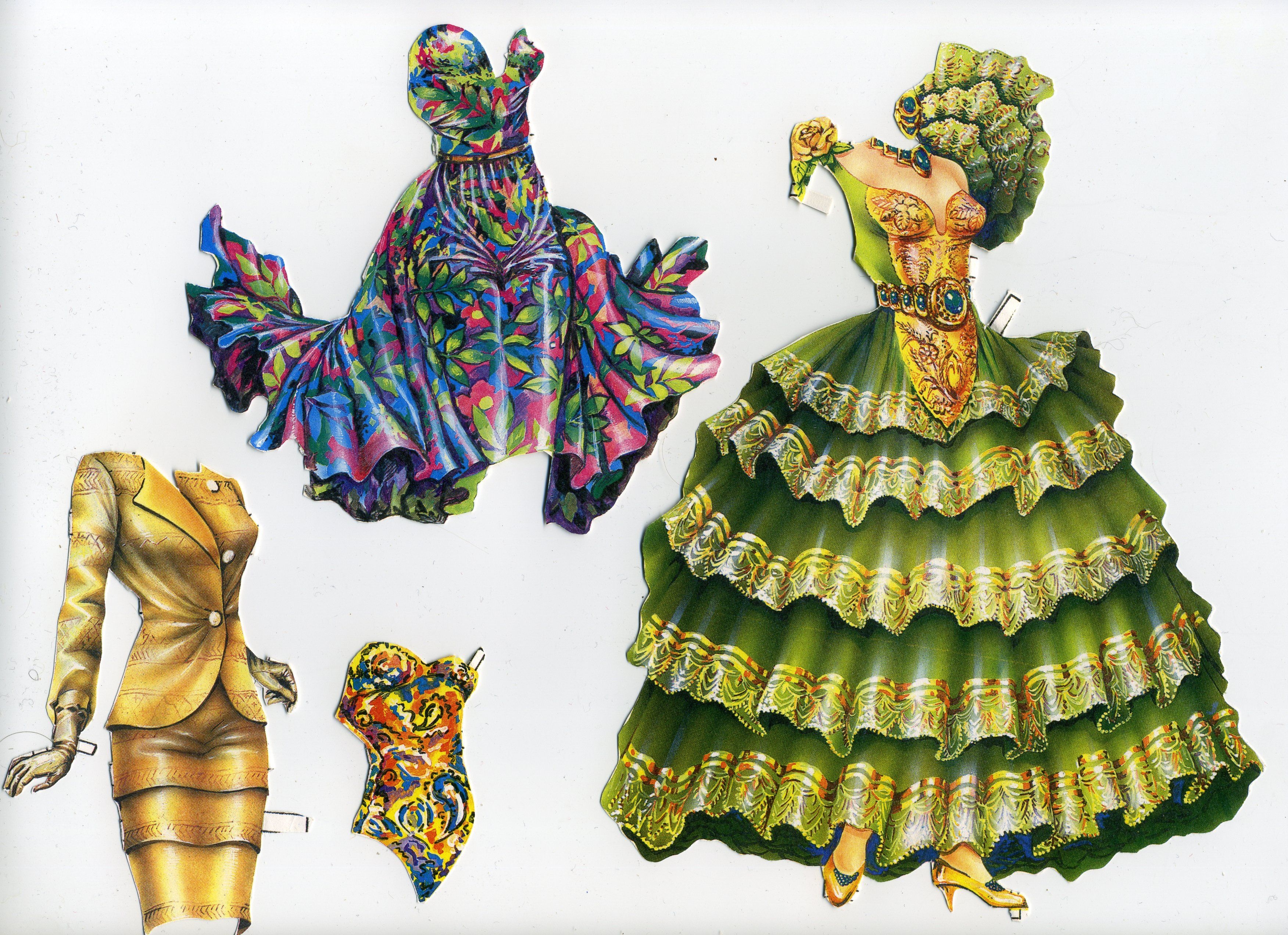 paper doll costume - HD 3504×2544