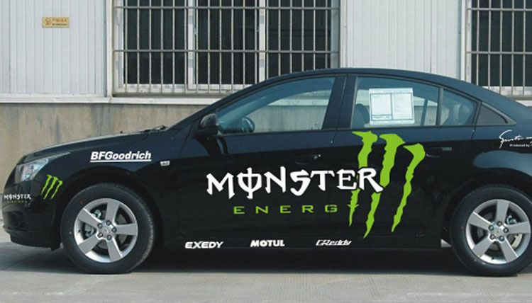 Cool Car Decal From Com Monster Decal For Whole Car