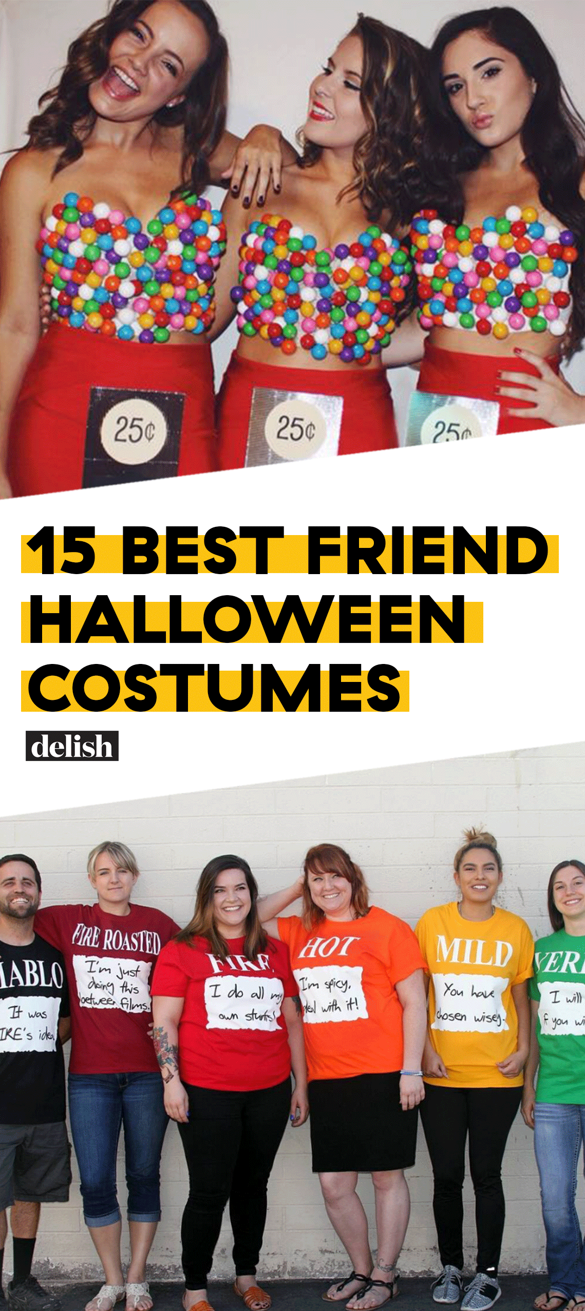 Jack & Coke Matching Halloween Costume Best friend