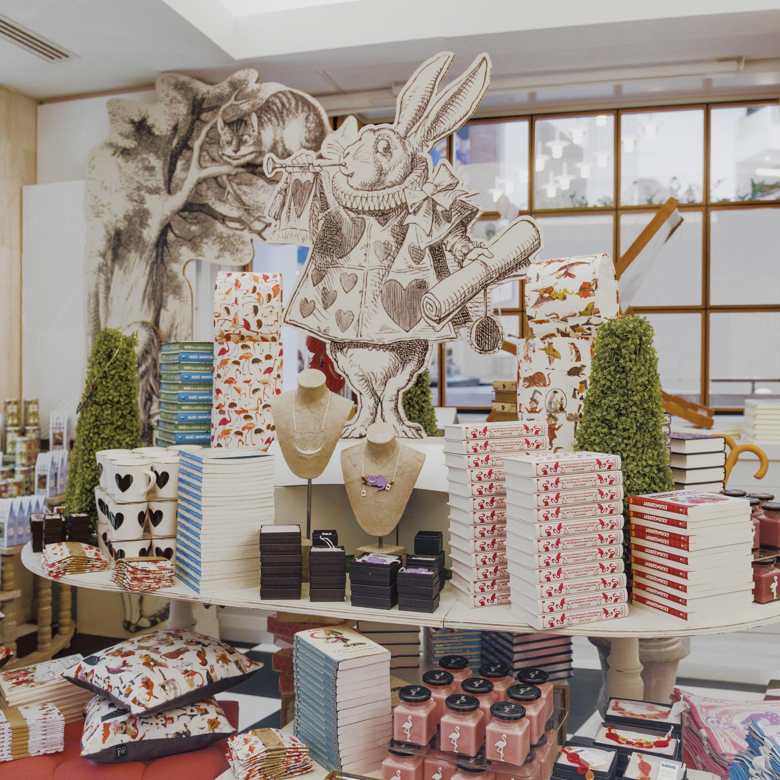 The British Librarys Alice In Wonderland Pop Up Shop Aliceinwonderland Popup