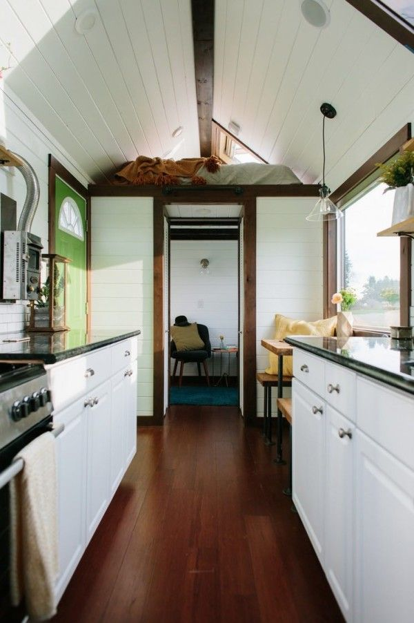 Beau Luxury Tiny House On Wheels By Tiny Heirloom In Portland OR