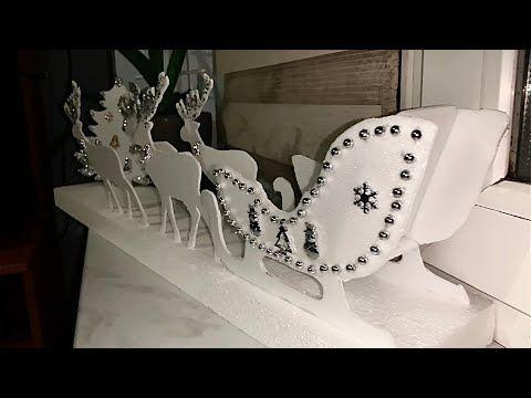 Новогодний декор своими руками дома/ DIY Christmas decor ...