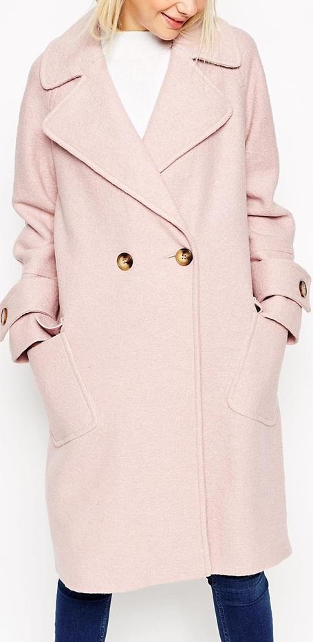 blush coat