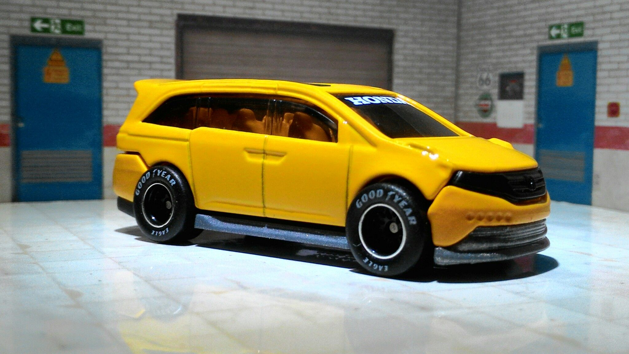 Honda Odyssey Custom My Hot Wheels Collections