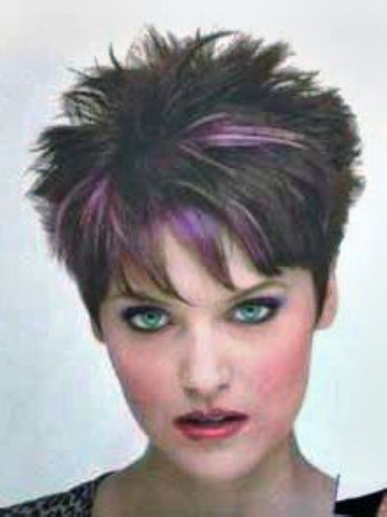 spiky short haircuts for women | short spiky hairstyles for