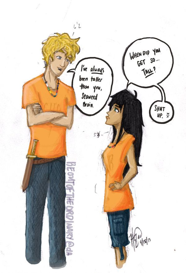 Rule 63 - fem!Percy has height issues too  by beoutoftheordinary on