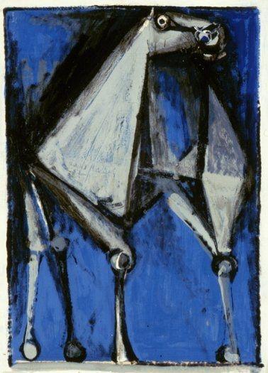'Cavallo' (1952) by Marino Marini