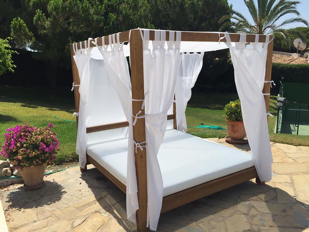 Coberti cama balinesa para exterior camas balinesas for Cama balinesa