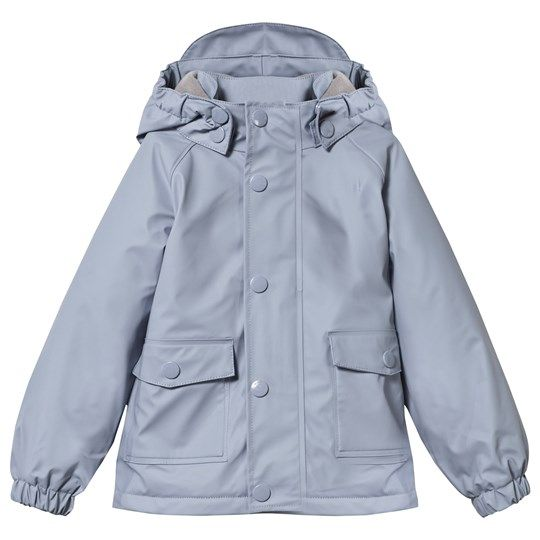 Mini A Ture Julien Lined Rain Jacket Cameo Blue Cameo Blue