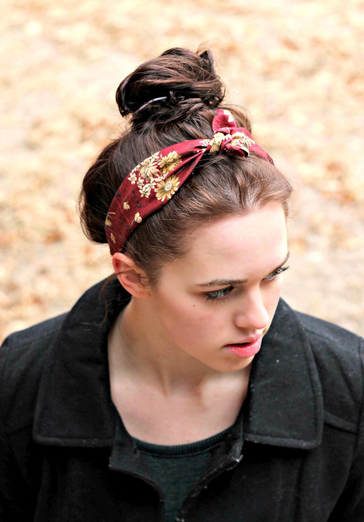 Super Cute Vintage Look Tie Headband Tie In Women S