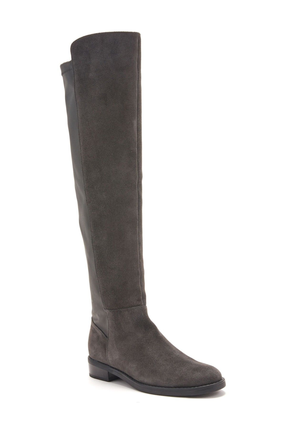 fce4b571f78 Blondo - Olivia Knee-High Leather   Suede Boot is now 50% off. Free  Shipping on orders over  100.