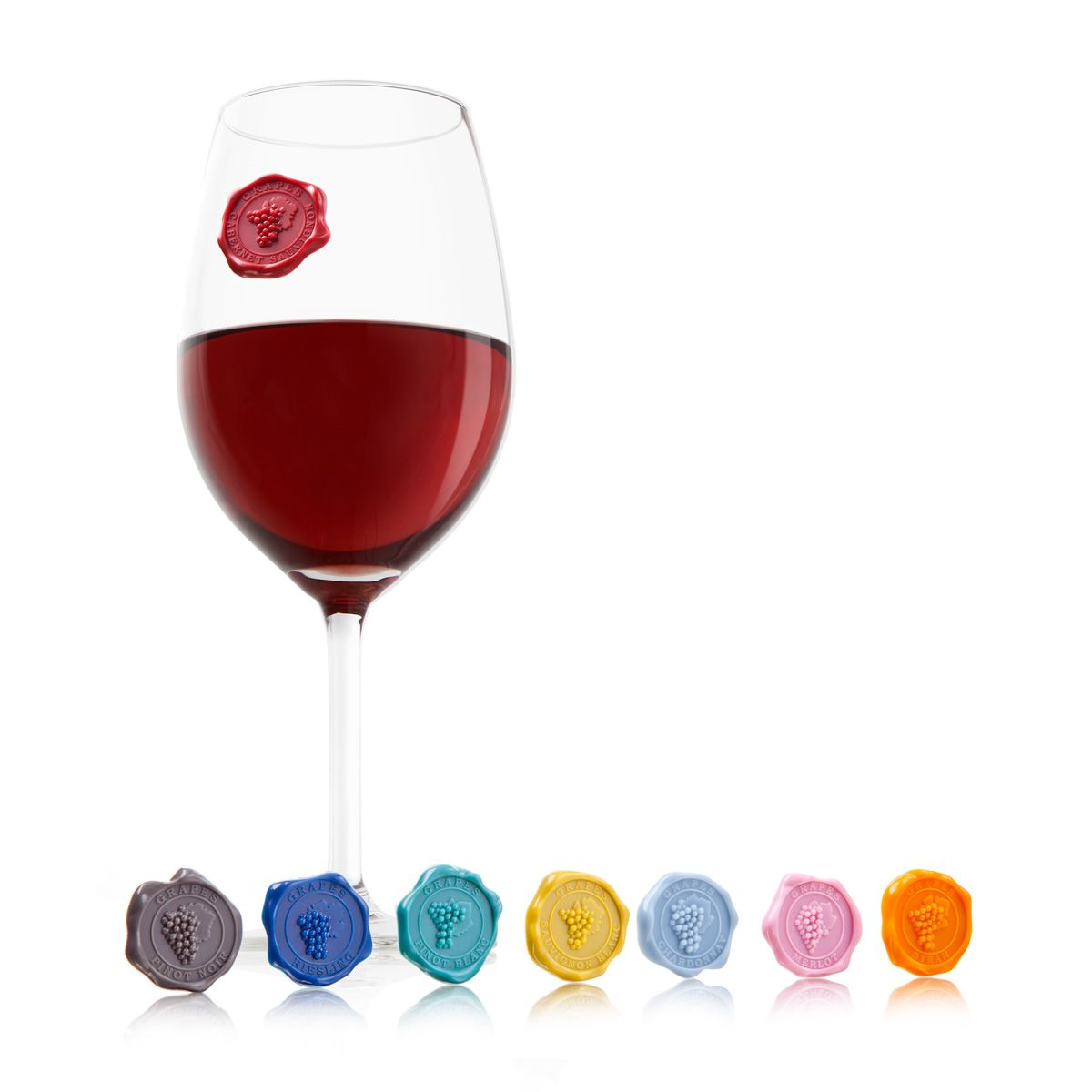 Pin By Patti Bailey On Serve Wine Glass Tags Wine Glass Markers Glass Marker