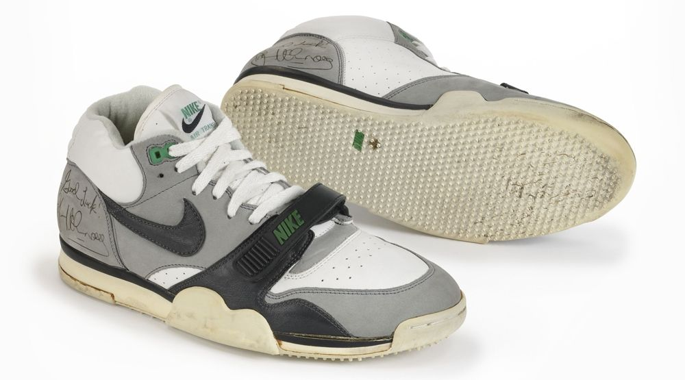 best service 676a0 c37cd A Look at John McEnroes Original Nike Air Trainer 1 PEs