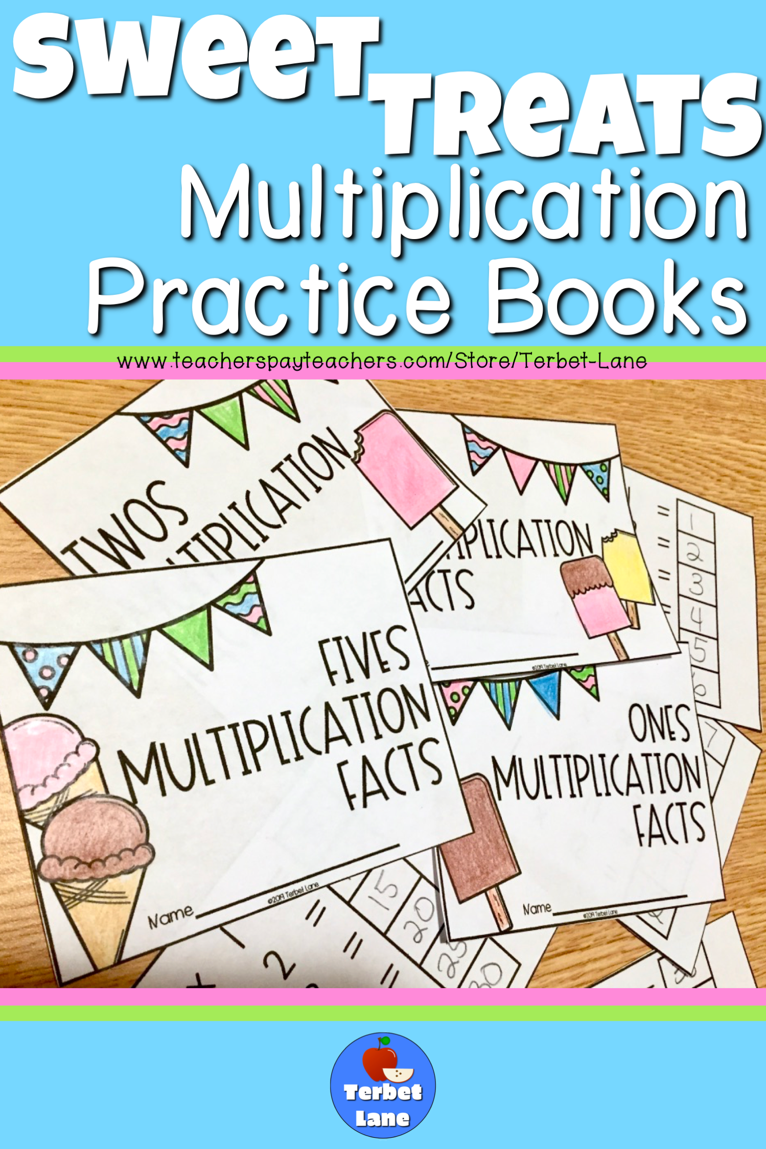 Sweet Treats Multiplication Facts
