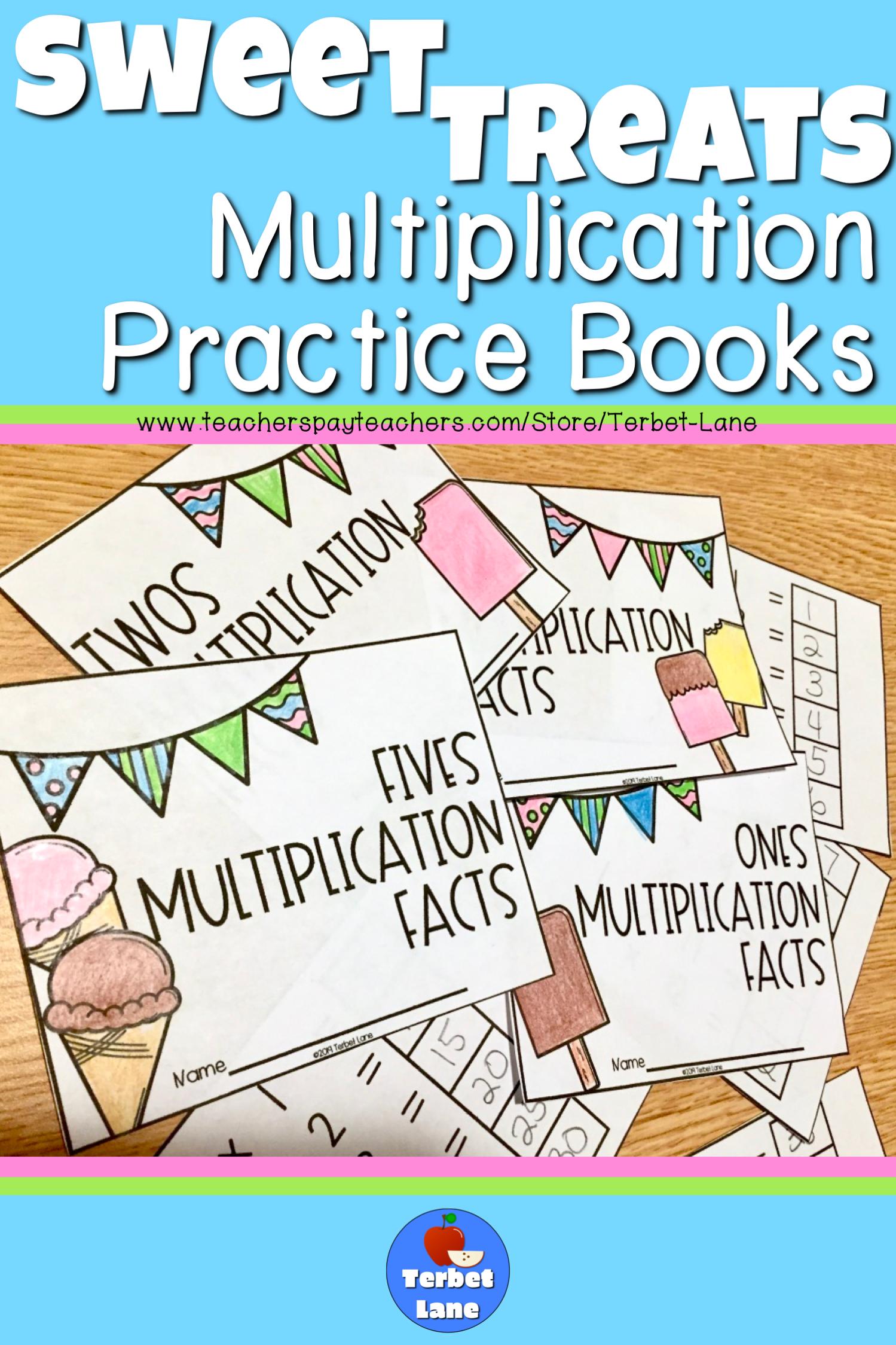 Sweet Treats Multiplication Facts