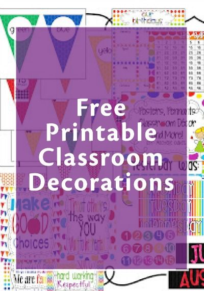 image regarding Free Printable Classroom Decorations identify Absolutely free Printable Clroom Decorations For Instructors Flisol Household