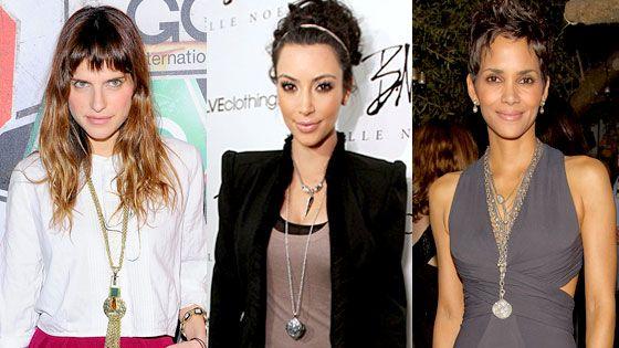 Celeb style long pendant necklaces celebrity style pinterest celeb style long pendant necklaces aloadofball Images