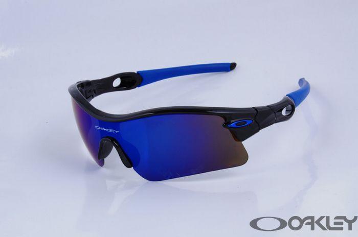 50e60745bc oakley radar range sunglasses polished black blue iridium