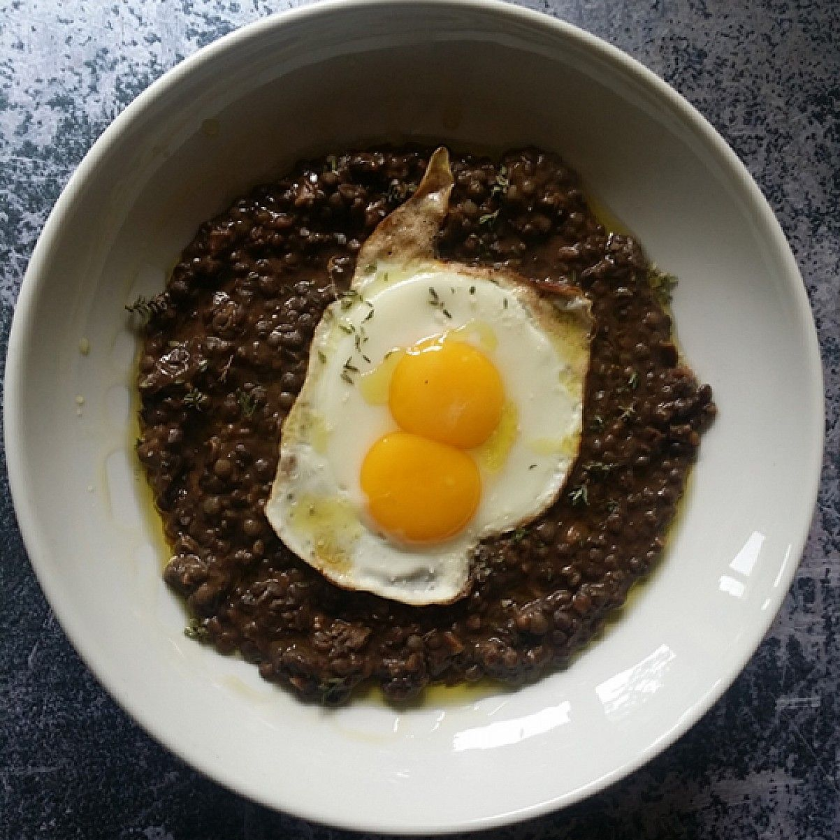 Puy Lentils With Porcini And Thyme Using Simply Cooked Puy Lentils Puy Lentil Recipes Recipes Grape Recipes