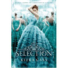"The Selection.  Described as, ""The Hunger Games meets the Bachelor""  I'm intrigued."