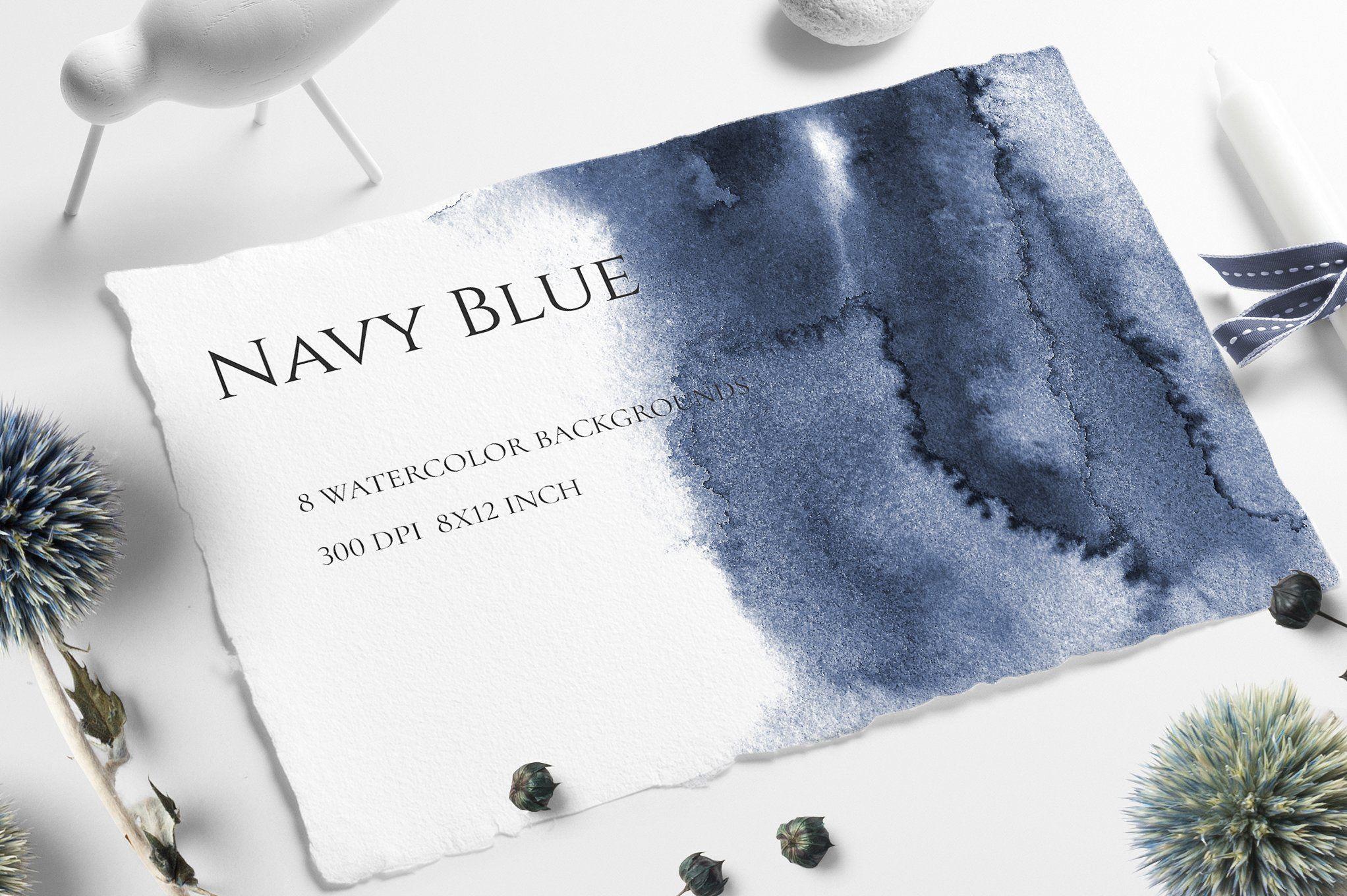 Navy Blue Ombre by CatherineWheel on creativemarket NAVY