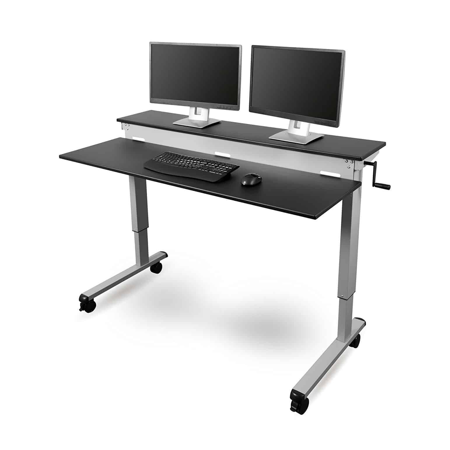 Top 10 Best Height Adjustable Desks Reviews In 2020 With Images Adjustable Height Desk Desk Adjustable Standing Desk