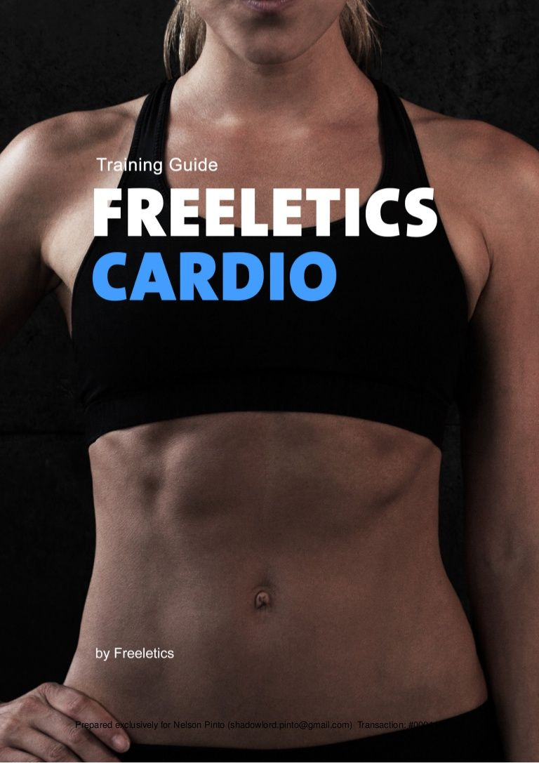 full freeletics cardio guide for free for ladies and looking to rh pinterest com