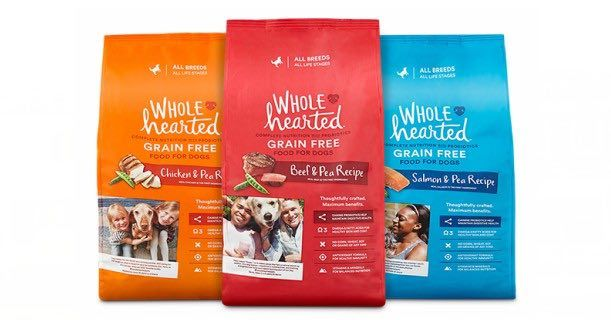 Free 6lb Bag Of Whole Hearted Dog Food At Petco Dog Food