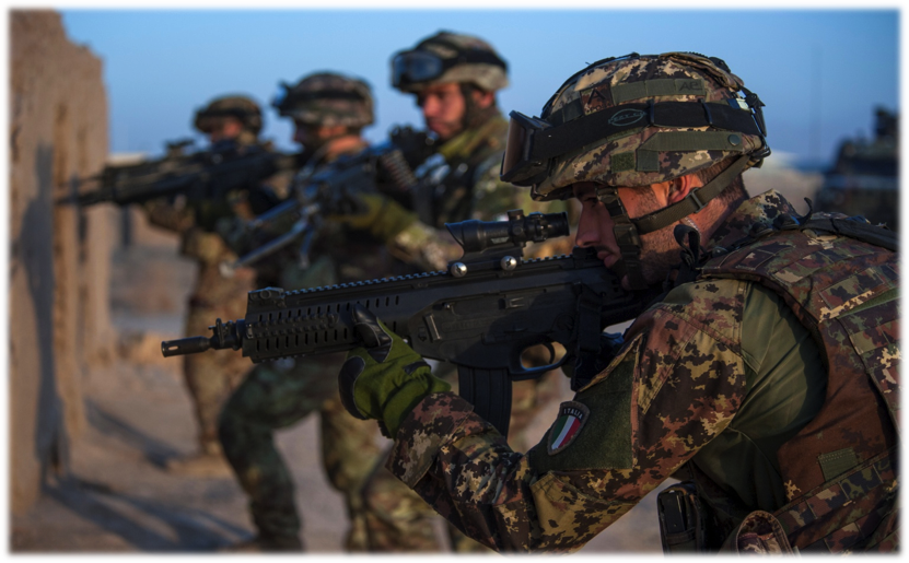 Esercito Italiano - Reparti Speciali armati con Fucile Beretta ARX 160 A1 d1402decd233