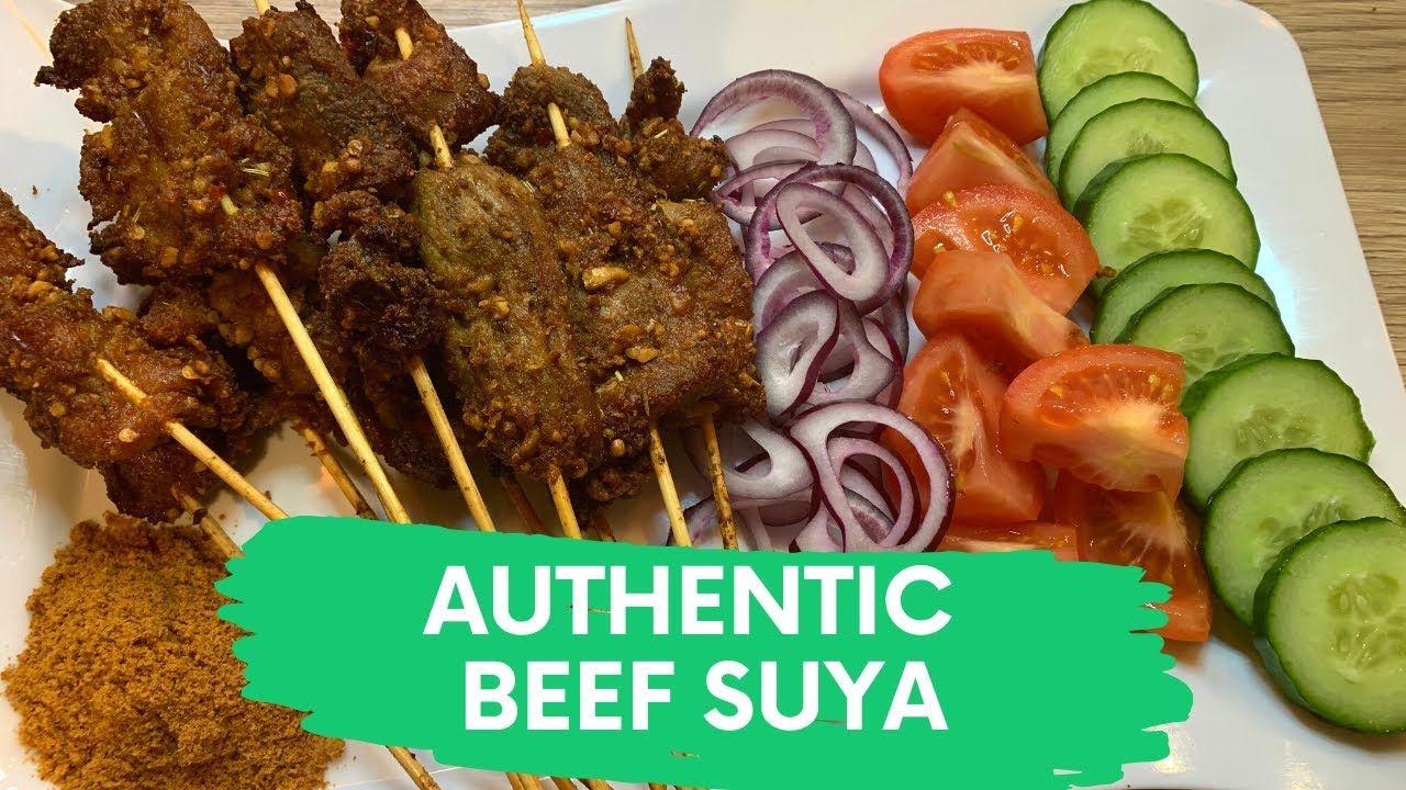 Cook with me nigerian beef suya recipe spicy beef kebab
