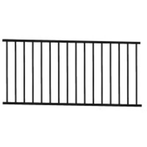 Designer's Image 6' Black Level Rail Panel at Menards