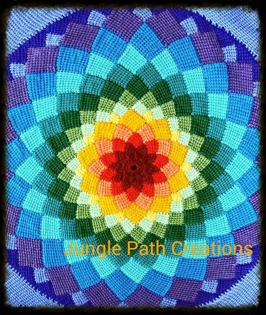 Sunny Daze Tunisian Entrelac Pattern By Laura Pavy Flores