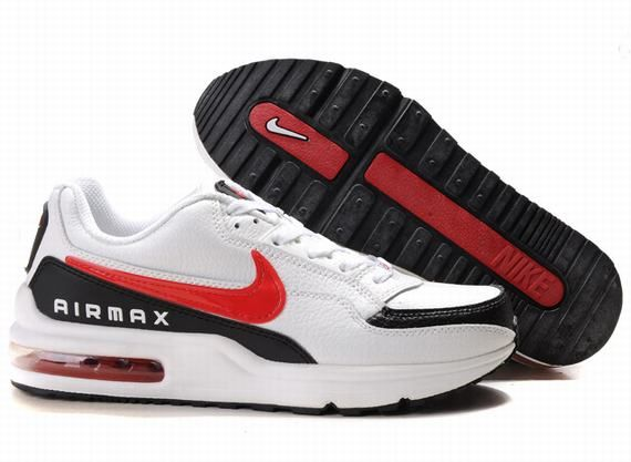 outlet store a3730 798fb nike air max ltd white and red black tick