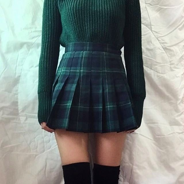 """275de84be 83 Likes, 8 Comments - Eric (the Tennis Skirt lover) (@ericrohn5) on  Instagram: """"@luvyans2 found the perfect outfit to go with her green  Madeline Plaid ..."""