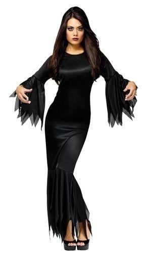 edcee3046cd3e Sexy Adams MORTICIA ADDAMS Family Vampire Witch Costume Dress   FAST  SHIPPING    FunWorld  CompleteCostume