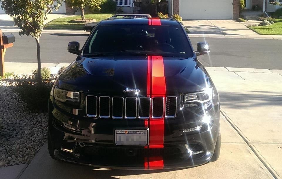 Sticker Decal Stripe Kit For Jeep Grand Cherokee Mirror Graphics