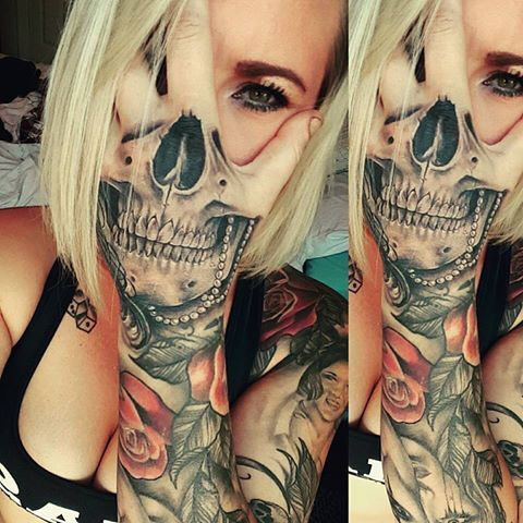 20 Makeup Women Tattoos On Hand Ideas And Designs