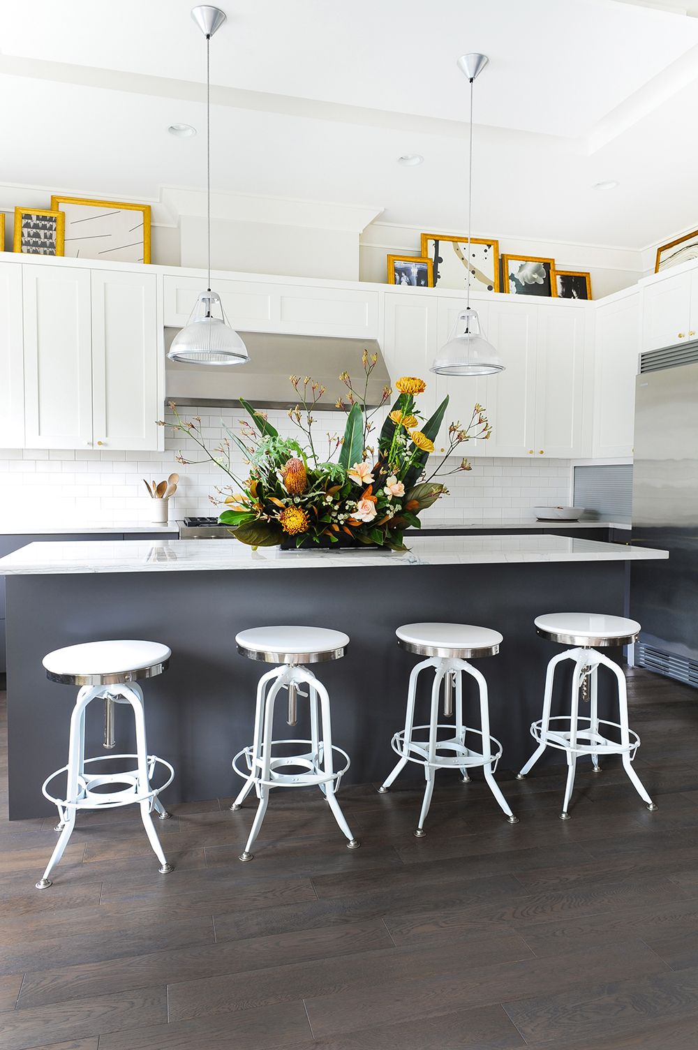 25 modern white kitchens packed with personality white