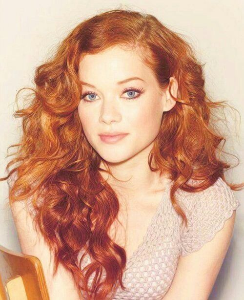 Jane Levy Red Curly Hair Red Hair Blue Eyes