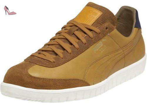 chaussure puma homme marron