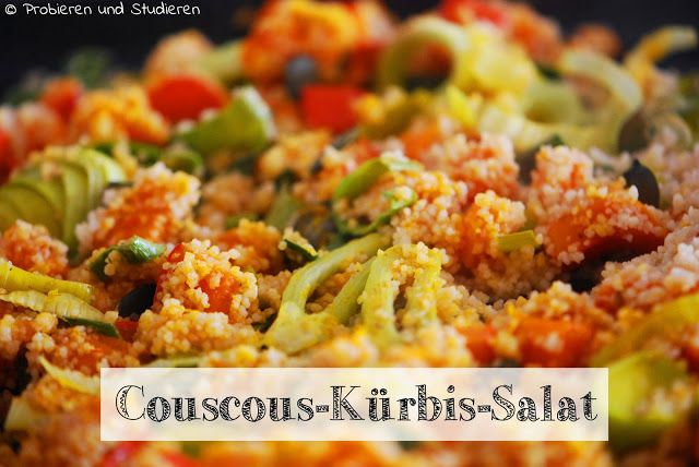 Couscous-Kürbis-Salat mit Ras El Hanout
