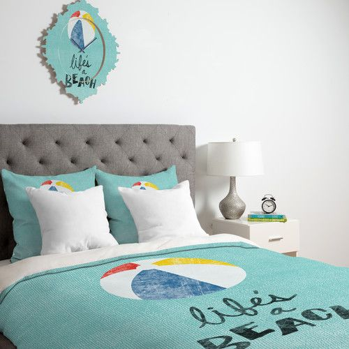 Found it at Wayfair - Nick Nelson Lifes A Beach Duvet Cover Collection