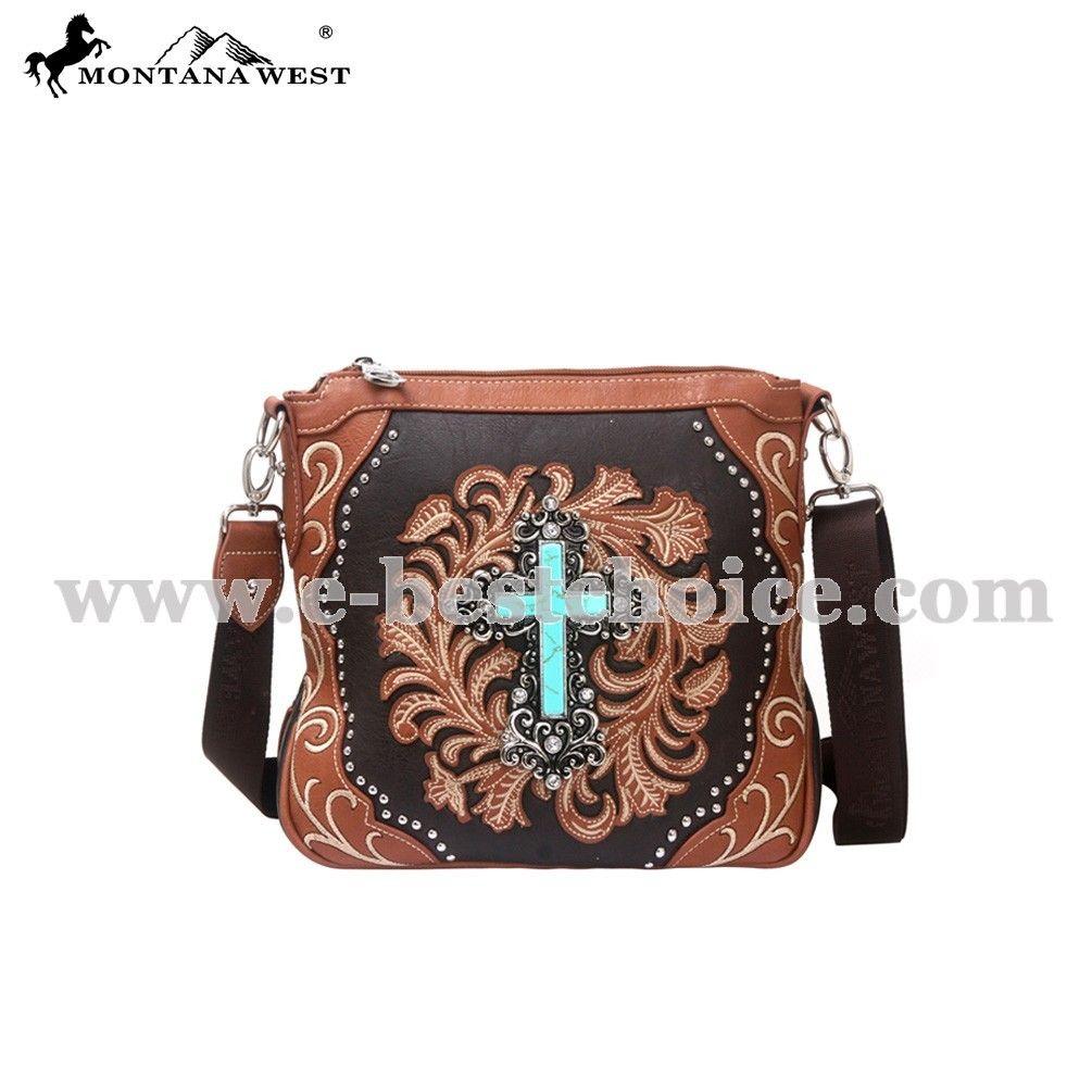 ebf96fdad6 Montana West MW113-8295 Spritual Collection Messenger Bag - Handbag - NEW