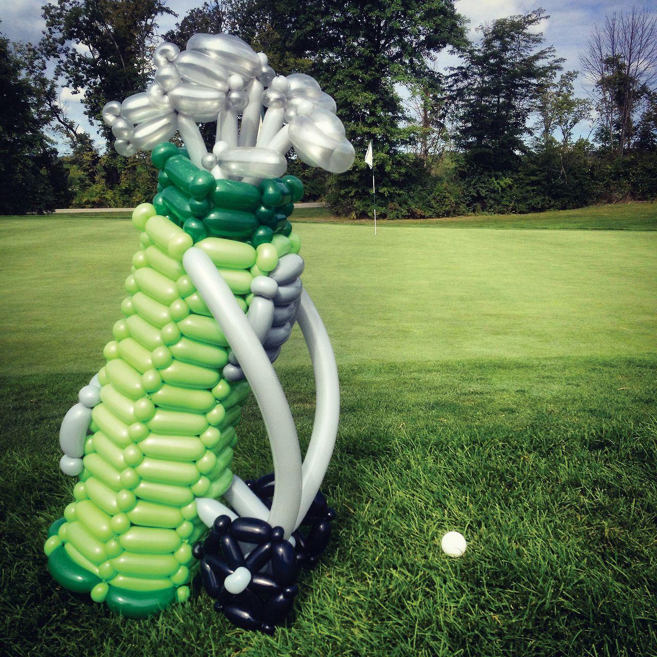 365 Days Of Balloons Golf Theme Golf Theme Party Balloons