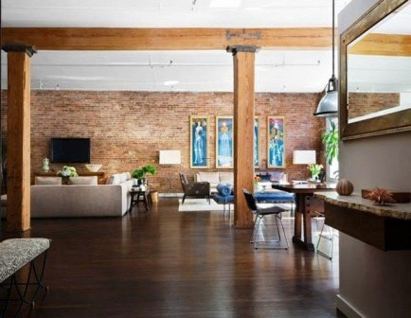 old new york apartments interior. Modern loft apartment New York  Exposed brick walls and wood beams new york city lofts photos love the exposed