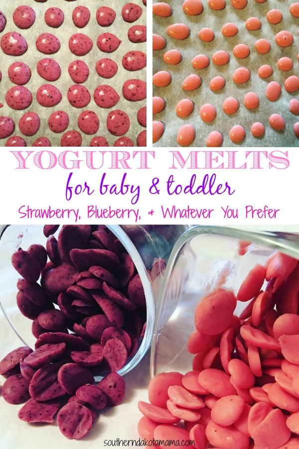 Yogurt Melts For Baby/Toddler