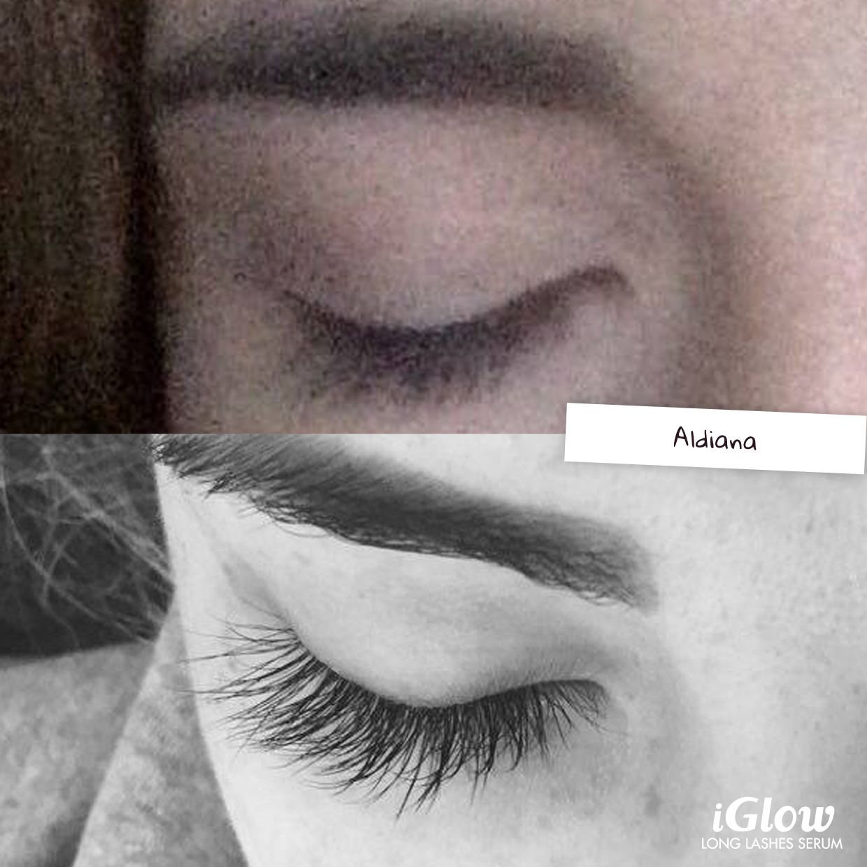 5d79681a318 Pin by iGlow on iGlow Long Lashes Serum Kundebilder / Erfaringer