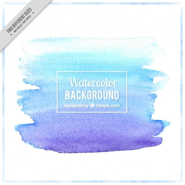 Watercolor Brush Stroke Background Watercolor Brushes Vector