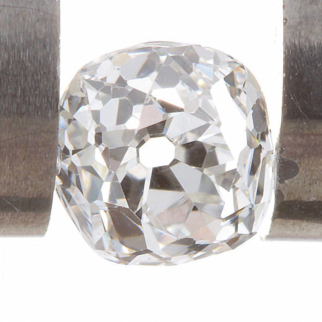 Diamond loose old mine cut .34 carat antique vintage   H-i   VS2 - Si1   antique cushion brilliant cut diamond   circa 1800's by DavidJThomasJewelry on Etsy